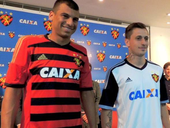 Sport: Novo uniforme 1 e novo uniforme 2/Sport/Divulgação