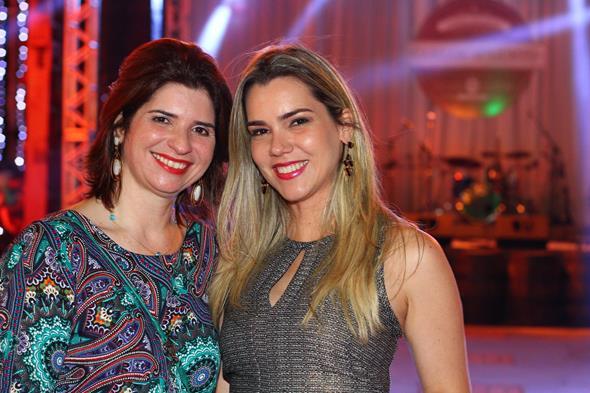 Ana Paula Carreras e Michelle Queiroz - Crédito: Paulo Paiva/DP/D.A Press