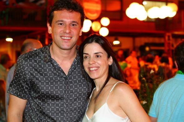 Augusto Acioli e Ana Claudia -  Crédito: Paulo Paiva/DP/D.A Press
