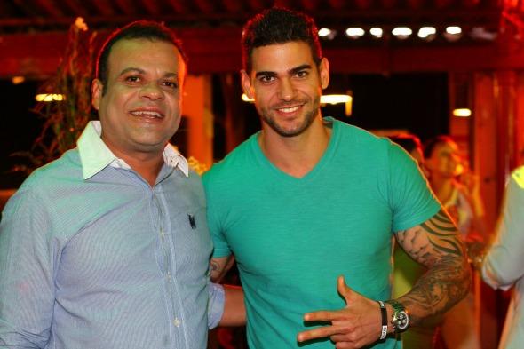 Os ex-BBBs Daniel e Rodrigo - Crédito: Paulo Paiva/DP/D.A Press