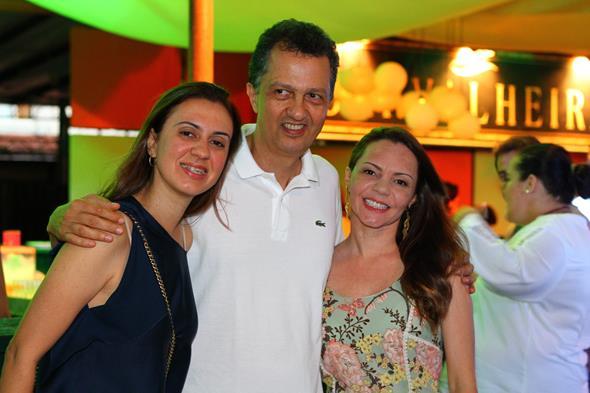 Duda Tolentino, Murilo Cavalcanti e Dani Lustosa - Crédito: Paulo Paiva/DP/D.A Press