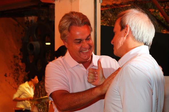André Campos e Carlos Augusto Costa - Crédito: Paulo Paiva/DP/D.A Press