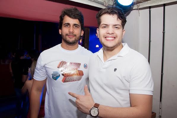 O produtor Paulo Labanca e o cantor Léo Guilherme - Foto: Gabriel/Divulgação