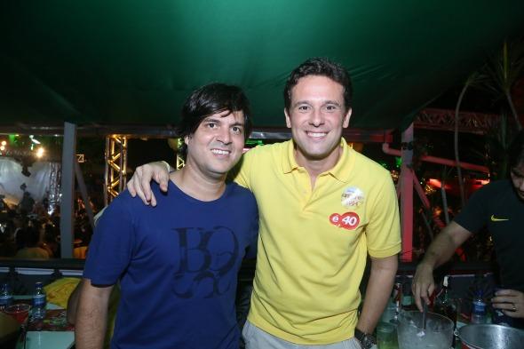 Bruno Rêgo e Augusto Acioli - Crédito: Gleyson Ramos/Divulgação