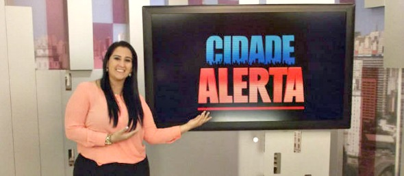 Fabiola Gadelha - Crédito: TV Record/Divulgação