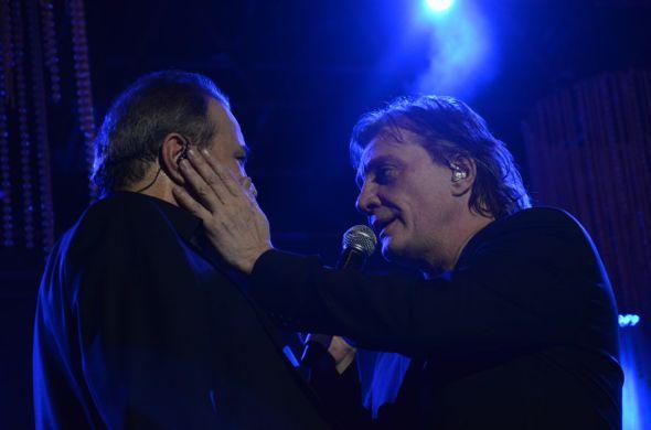 José Augusto e Fábio Júnior. Crédito: Chevrolet Hall / Divulgação