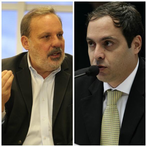 Armando Monteiro e Paulo Câmara - Créditos:  Allan Torres Esp DP/D.A Press e Alcione Ferreira/DP/D.A Press