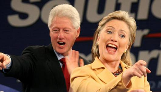 Bill e Hilary Clinton/Divulgação