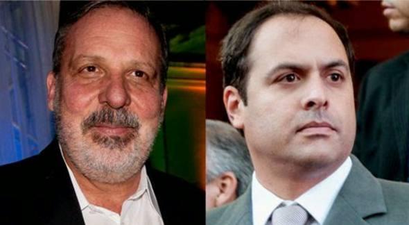 Armando Monteiro e Paulo Câmara. Crédito: Divulgação