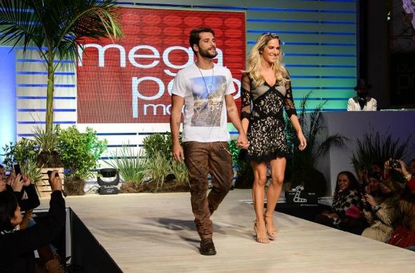 Bruno Gagliasso e Giovanna Ewbank - Crédito: Divulgação/megapolomoda.com.br