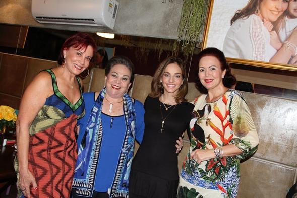 Isis Santini, Marina Paiva, Cris Lemos e - Crédito: Thuany Ferreira/ 4Comunicação