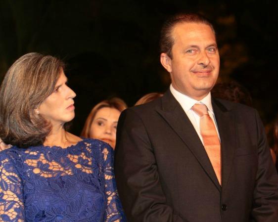 Eduardo Campos e Renata rotativa