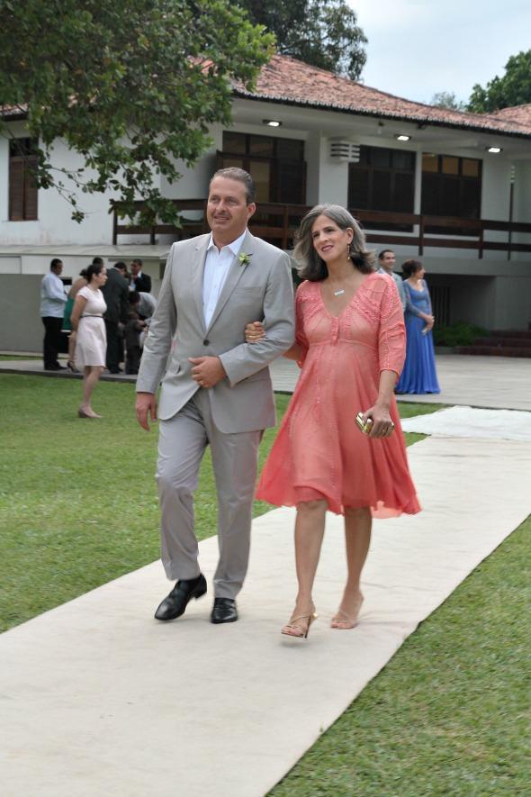 Eduardo Campos e Renata Campos -  Crédito: Nando Chiappetta/DP/D.A Press.