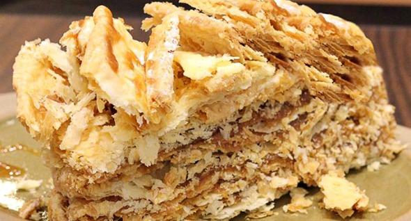 Torta Mil Folhas Doce de Leite da Abuela Goye - Crédito: abuelagoye.com/Divulgação