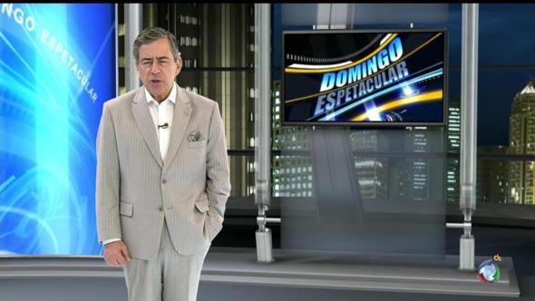 Paulo Henrique Amorim fará palestra. Crédito: Record / Divulgação