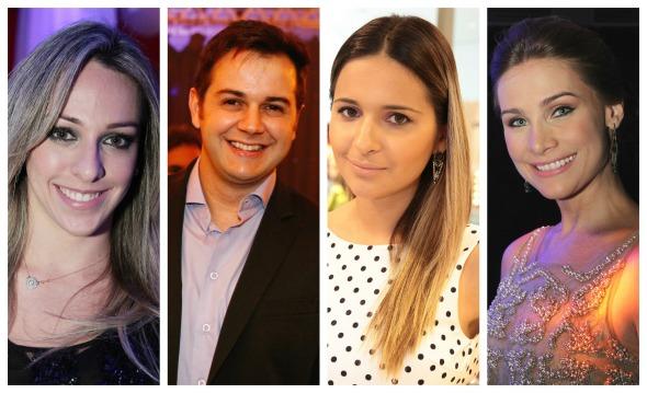 Anna Sarah, Heracliton Diniz, Rebeka Guerra e Manoela Furtado -   Créditos: Ricardo Fernandes/DP/D.A Press, Bruna Monteiro DP/D.A Press, Nando Chiappetta/DP/D.A Press