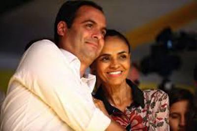 Paulo Câmara e Marina Silva/PSB/Divulgação