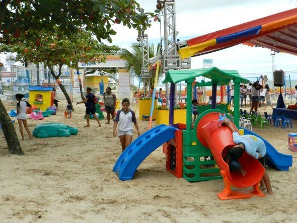 Projeto Treloso na Praia, na orla de Piedade - Crédito: Luciana Morosini/Divulgação
