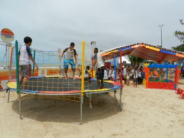Arena Treloso na Praia, na orla de Piedade - Crédito: Luciana Morosini/Divulgação