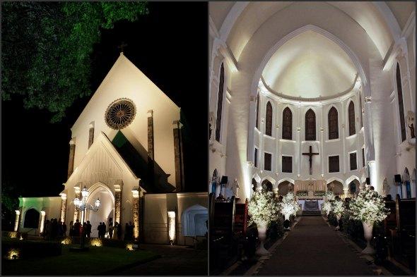Igreja do Colégio Damas. Crédito: Clara Gouvea / Divulgação