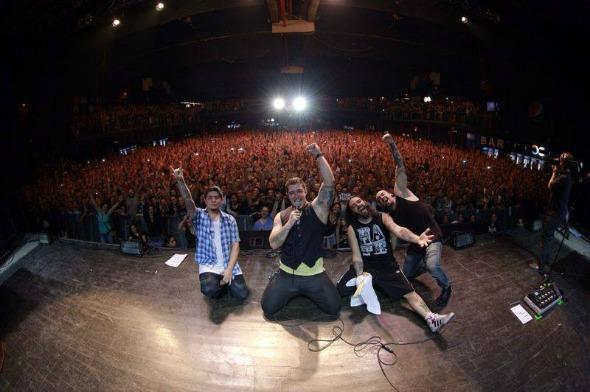 Banda Malta fará show no Baile Perfumado, em outubro. Crédito: Fanpage da banda / Divulgação