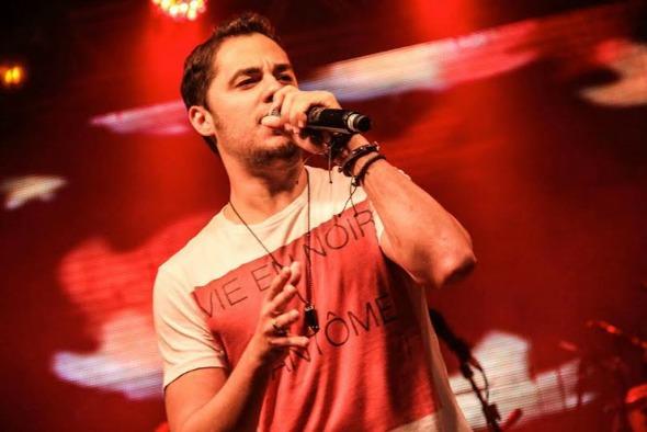 Levi Lima, vocalista do Jammil. Crédito: Divulgação