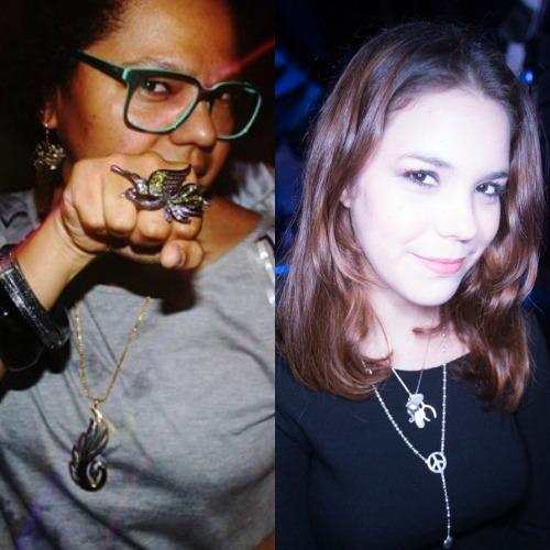 Lala K e Sarah Falcão. Crédito: Sarah Falcão e Lana Pinhp/Divulgação