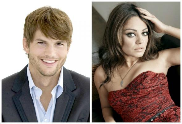 Ashton Kutcher e Mila Kunis. Créditos: Warner/Divulgação/Reprodução da Internet
