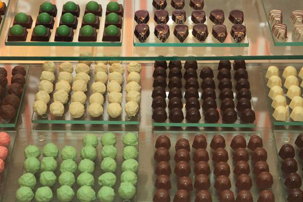 Linha de doces criada especialmente para a loja. Crédito: Nando Chiappetta/DP/D.A Press