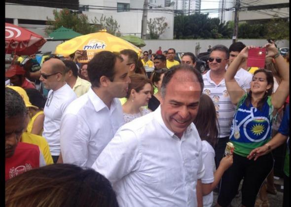 Fernando Bezerra Coelho é eleito senador da República por Pernambuco. Crédito: Reprodução Twitter