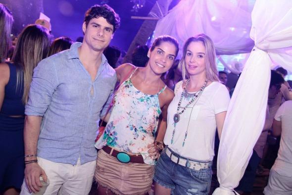 Bernardo Carrazone, Gal Arruda e Alice Jacome. Crédito: Gleyson Ramos