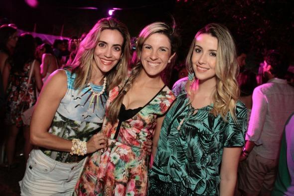Renata Miranda, Marina Mota e Bruna Monteiro. Crédito: Gleyson Ramos
