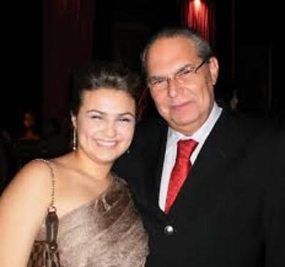 Gustavo Paes de Andrade e a filha Maria Clara/Divulgação