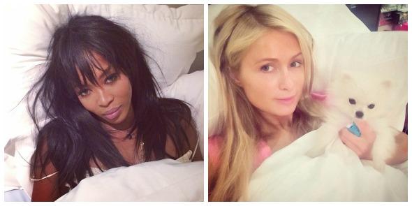 Naomi Capbell e Paris Hilton já aderiram à campanha #WakeUpCall. Crédito: Reprodução Instagram