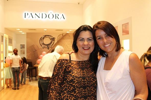 Katia Gomes e Janaina Brito - Crédito: Erick Volgo/Divulgação
