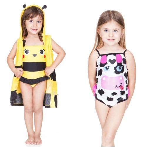 Abelhinhas e vaquinhas para animar o verão. Crédito: Cara de Criança / Divulgação