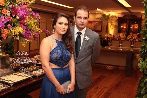 Milena e Renato Pontes. Crédito: Nando Chiappetta/DP/D.A Press