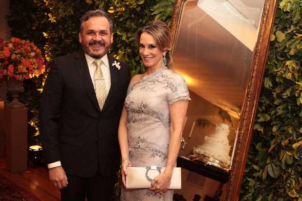 Rossano Araújo e Paula Meira. Crédito: Nando Chiappetta/DP/D.A Press