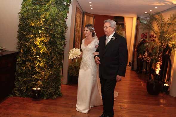Alessandra e o pai, José Ubiracy. Crédito: Nando Chiappetta/DP/D.A Press