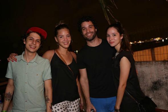 Thiago de Renor, Amanda de Moura, Thiago Megale e Glenda Costa. Crédito: Celo Silva