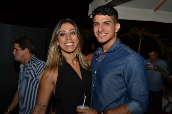 Viviane Rodrigues e Marcelo Cravo. Crédito: Larissa Nunes