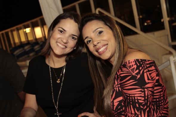 Andressa Limeira e Juliana Lavareda. Crédito: Gleyson Ramos / Divulgação