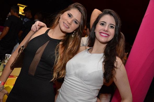 Eduarda Teixeira e Camila Loureiro Pinho - Crédito: Ricardo Moreira/Divulgação
