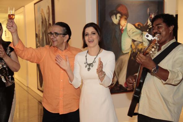 Antonio Lavareda e Carla Bensoussan. Crédito: Gleyson Ramos / Divulgação