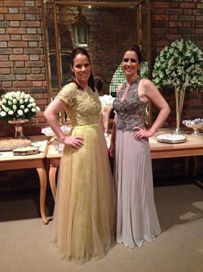 Renata e Luciana da Fonte -  Crédito: Heracliton Diniz/Divulgação