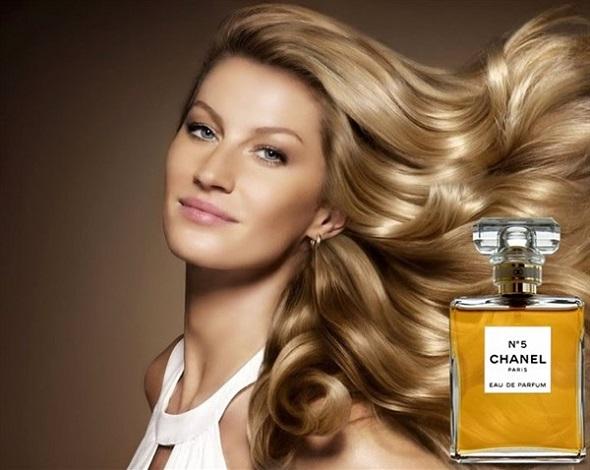 Gisele Bündchen para Chanel - Crédito: Divulgação da marca