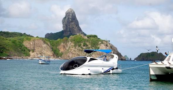 Embarcação Navi será uma das atrações do programa Estrelas - Crédito: Projeto Navi/Divulgação
