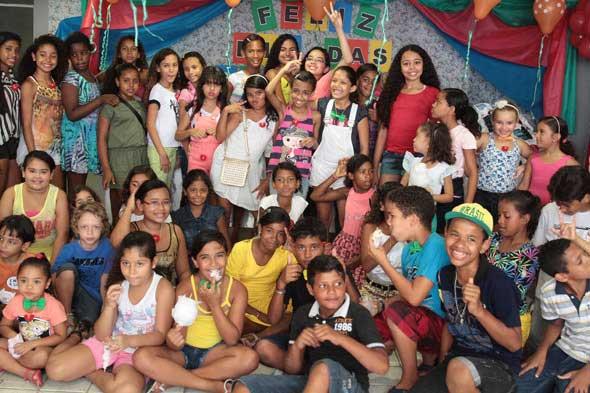 Dia das Crianças no Movimento Pró-Criança. Crédito: Nando Chiappetta / DP / D.A Press