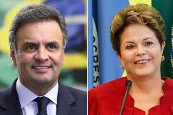 Aécio e Dilma/Divulgação
