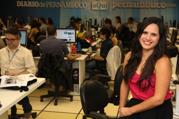 Júlia Schiaffarino é finalista na categoria Norte / Nordeste do Prêmio Esso, o mais importante do jornalismo no país. Crédito: Teresa Maia / Divulgação